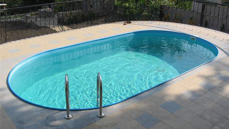 Сборный бассейн (овальный)