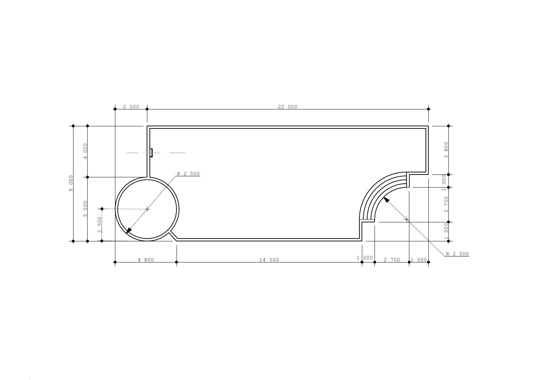 Проект чаши бассейна